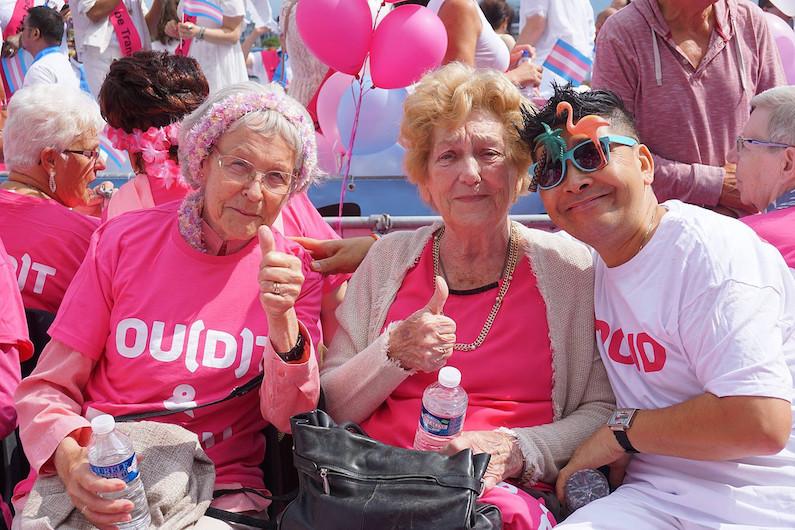 Roze ouderen