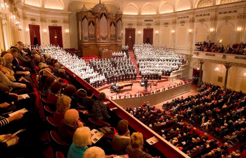 Volle zaal in het Concertgebouw